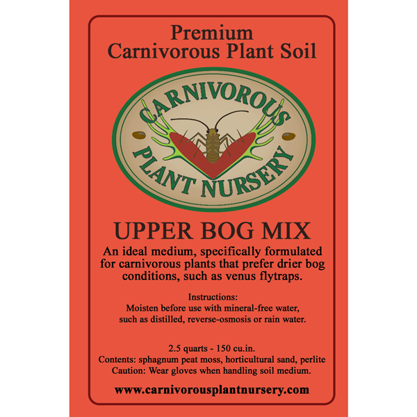 Soil Label Upper Bog Mix
