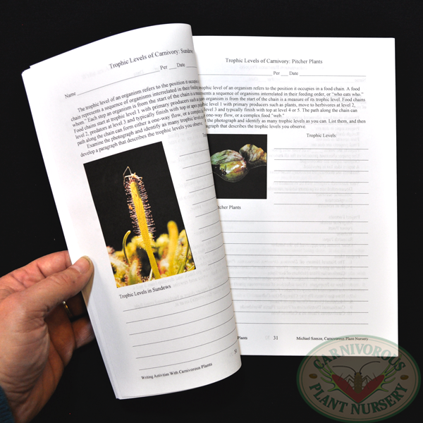 Writing Activities with Carnivorous Plants