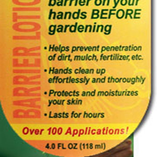 Yard Glove Barrier Lotion Label