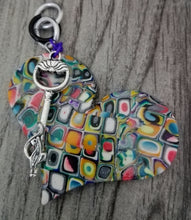 Load image into Gallery viewer, Retro Puffy Heart Pendant - thepurplecove.com