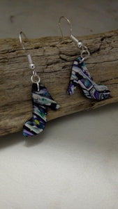 "Lacy ""Aquatic""  Shoe earrings - thepurplecove.com"