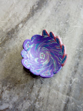 Load image into Gallery viewer, Mini Bowl, Pink and purple Flower 2 - thepurplecove.com