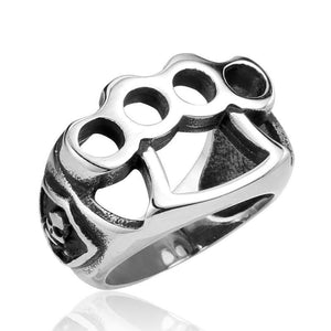 'Knuckle Duster' Ring - Rebel Stones