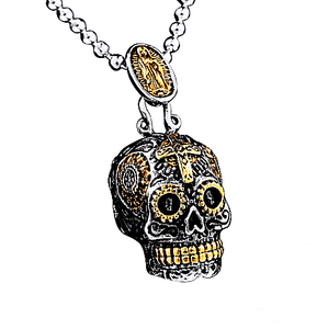 'Sugar Skull' Necklace