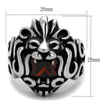New! Lionheart Stainless Steel Ring - Rebel Stones