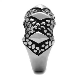New! Beast Plated Stainless Steel Ring Band - Rebel Stones