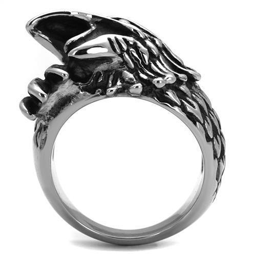 New! Eagle Head Stainless Steel Ring