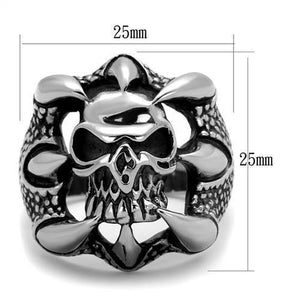 New! Skull Ripper Stainless Steel Ring