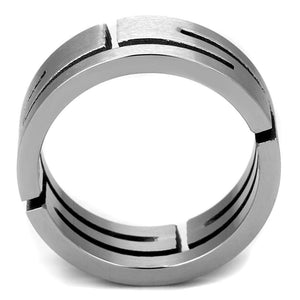 New! Stainless Steel Maze Ring Band