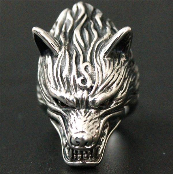'Raging Wolf' Ring