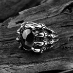 'Ruby Claw' Ring - Rebel Stones