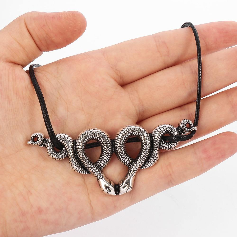 Snake Choker Necklace Witchy Gothic GOTH PAGAN GOTHIC WITCHY WICCA - Rebel Stones