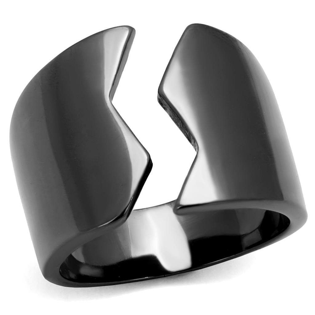 New! Gunmetal Craze Ring - Rebel Stones