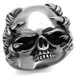 New! Talon and Skull Stainless Steel Ring