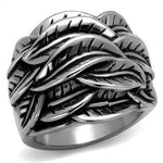 New! Green Man Stainless Steel Ring - Rebel Stones