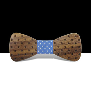 Kids Handmade Wood Bow Tie For Boy Baby Bowknot Children Bowtie