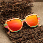 2019 New Design Men and Women Wooden Bamboo Sunglasses Polarized Lenses UV400 CA9069
