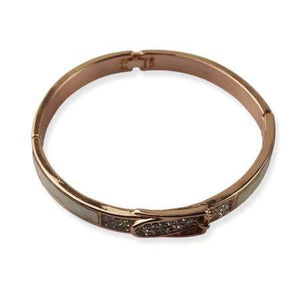 Bronze armband - Kliksluiting - Fashion4