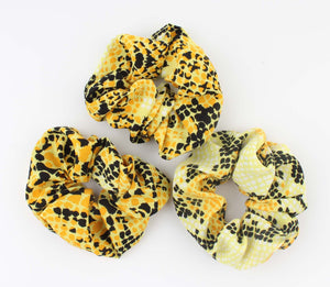 Gele Scrunchie - Koutou - Snake Look Print - Fashion4
