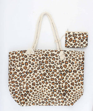 Shopper - Shirley - licht bruin - 54x16x39 cm - Fashion4