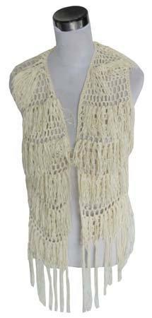 Trendy Wit Dames Vest - Fashion4
