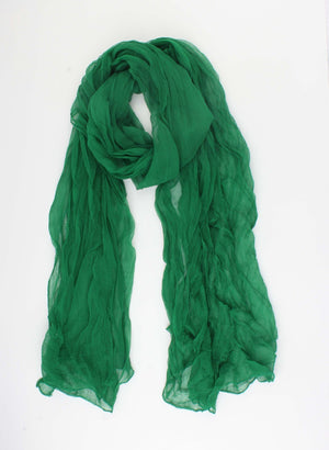 Zomersjaal - Soft Touch - Wassenaar - Summer Groen - Fashion4