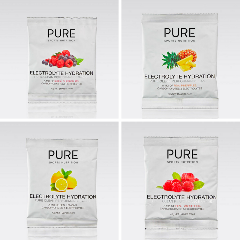 PURE ELECTROLYTE HYDRATION PREMIUM STARTER KIT