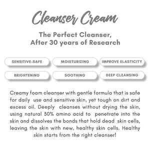 [Buy 4 Get 3] Cleanser Cream
