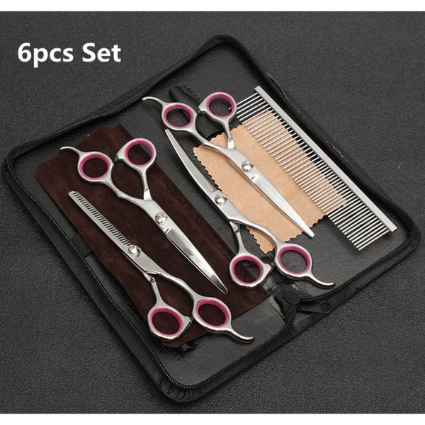 Professional 6-Piece Pet Grooming Kit