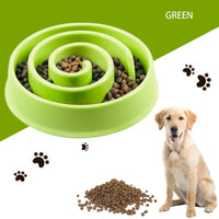 Slow Feeder Dog/ Cat Bowl (Medium Size) - Anti-Gulp/ Anti-Choke Snail Design