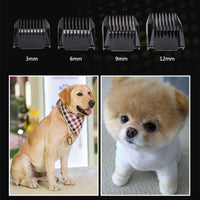 Rechargeable Cordless Low Noise Pet Dog Hair Trimmer