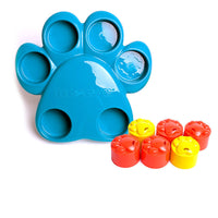 Paw Hide Dog Puzzle Bowl - Outward Hound - Mental Stimulation For Dogs
