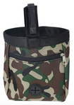 Treat Bag with Poop Bag Dispenser - Camouflage Green