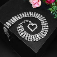 Adjustable Rhinestone/ Diamante Pet Collar Necklace