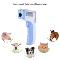 Digital Pet Thermometer Non-contact Infrared Veterinary Thermometer for Dogs Cats Horses and Other Animals