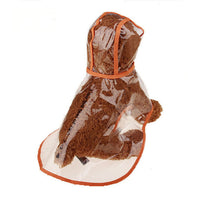 Dog Raincoat PVC Waterproof Jacket