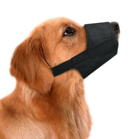 Dog Muzzles Pack 5 - Adjustable Small, Medium, Large, XL, XXL - Black