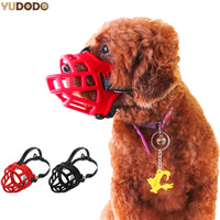 Silicone Dog Muzzle With Adjustable Straps
