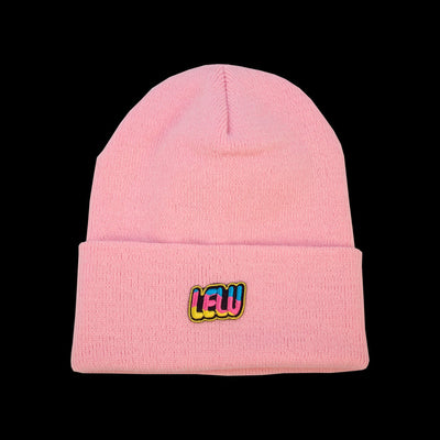 LONG BEANIE, LELU YELLOW CLOUD