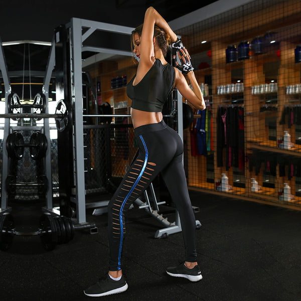 Hollow Out Yoga/Sports Legging - Bealady