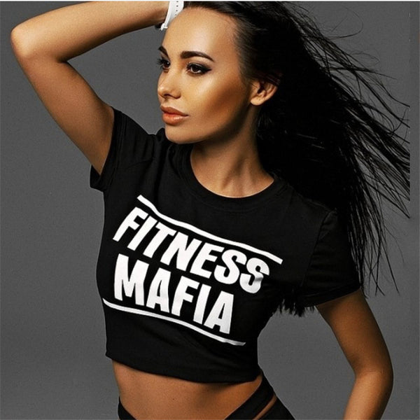 Fitness Mafia Yoga Top + Sports Pants Set - Bealady
