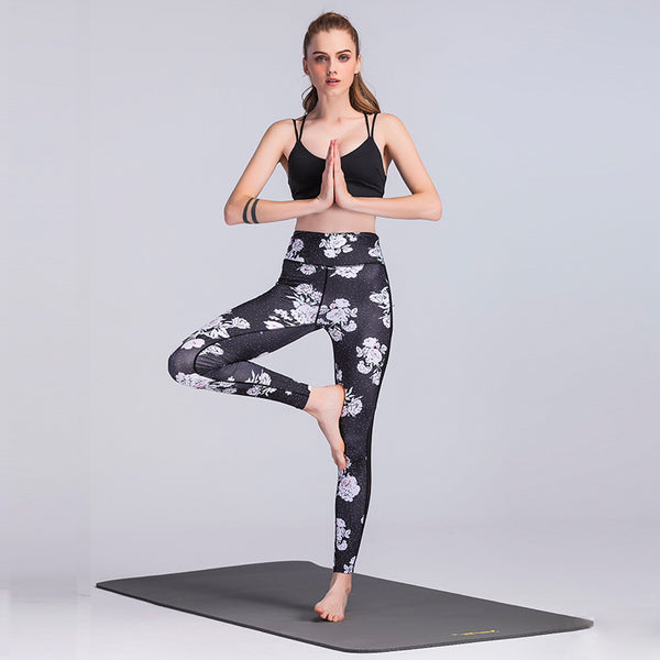 Elegance Sports/Yoga Leggings - Bealady