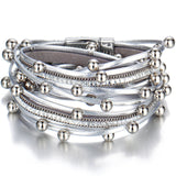 Elegrant  Multiple Layers Charm Bracelet - Bealady