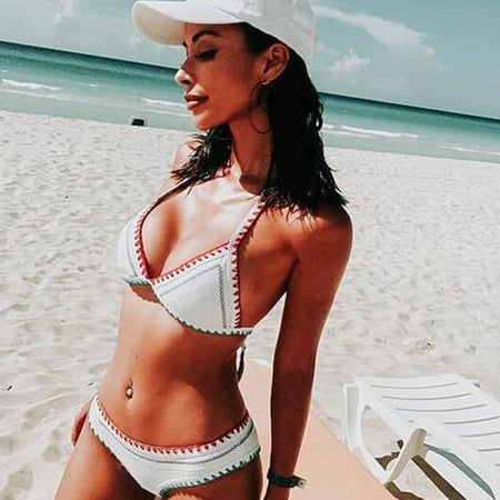 Sunflower Off Shoulder Bikini