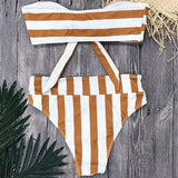 Bellini High Waist Bikini/One Piece - Bealady