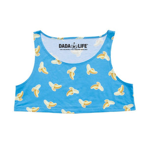 Banana Emoji Crop Top