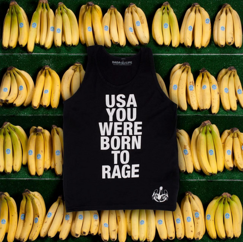 USA Born To Rage Tank Top