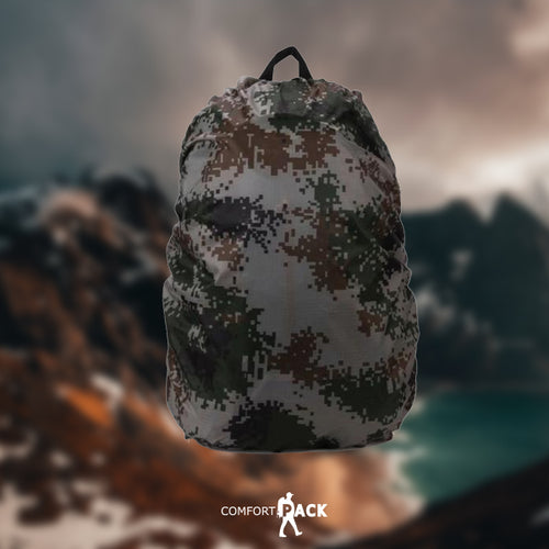 35L Camouflage Waterproof Backpack Cover