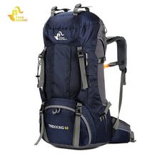 60L Waterproof Climbing Hiking Backpack