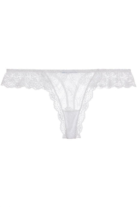 Eberjey - Kiss the Bride Ruffle Thong